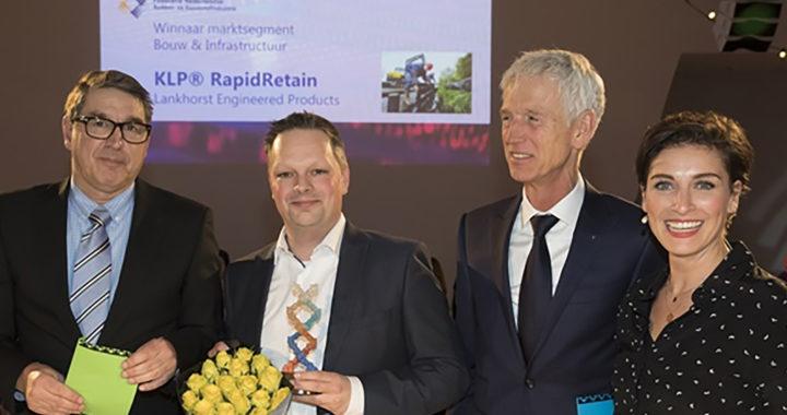 NRK Award voor duurzame KLP® RapidRetain walbeschoeiing