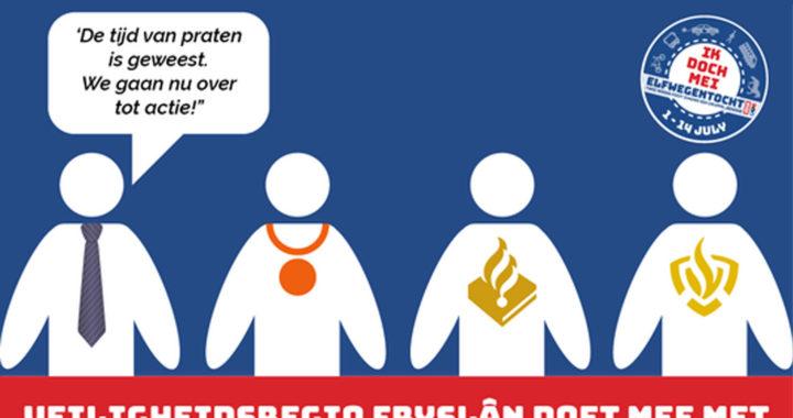 Veiligheidsregio Fryslân doet mee aan de Elfwegentocht