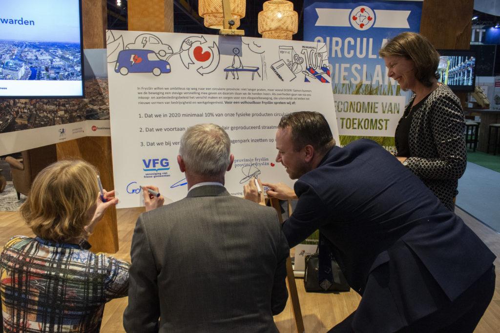 Ondertekening ambitiedocument Circulaire Economie, maart 2019
