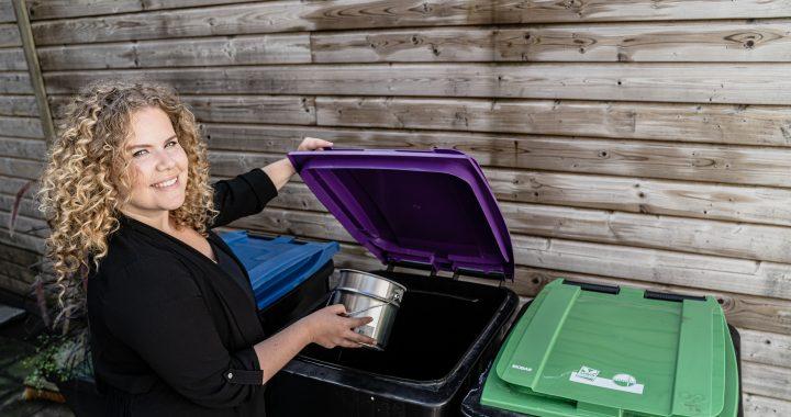 Iris Kroes als ambassadeur voor goed afval scheiden