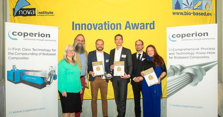 2e prijs voor Recell® biocomposiet bij Biocomposite of the Year 2019
