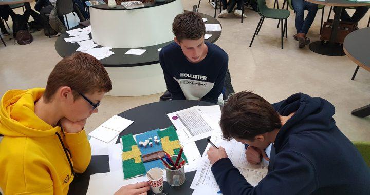 Studenten werken aan prototype biobased brug