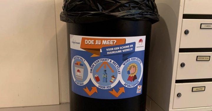 Samenwerking Omrin en ROC Friese Poort Sneek voor duurzame verwerking schoolafval