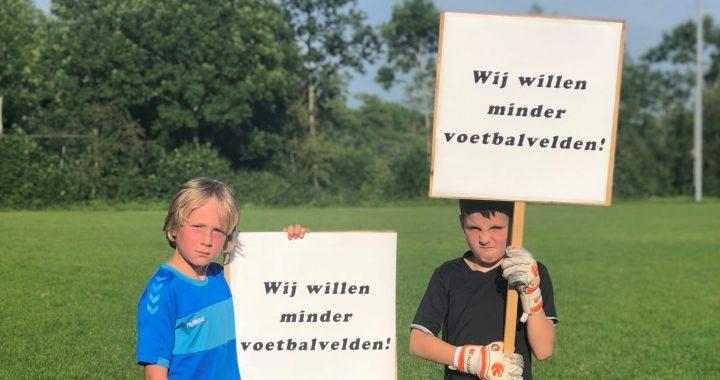 Lancering campagne Friese Voetafdruk: 'Wij willen minder voetbalvelden'