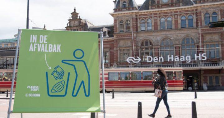 NederlandSchoon lanceert landelijk pictogram corona-afval