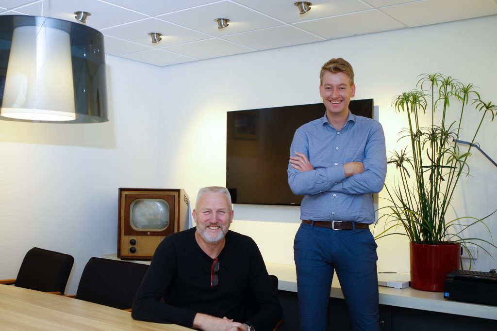 Johan Meijer en Andries Metz