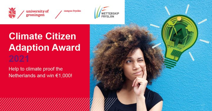 Citizen Climate Adaptation Award daagt jongeren uit om mee te denken over klimaatadaptatie