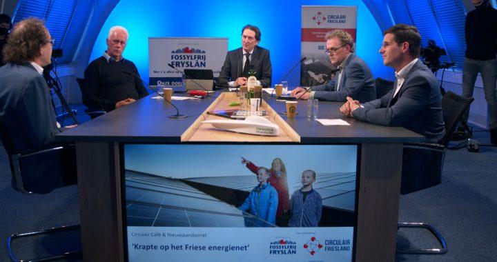 Opname Circulair Café 'Krapte op het Friese energienet'