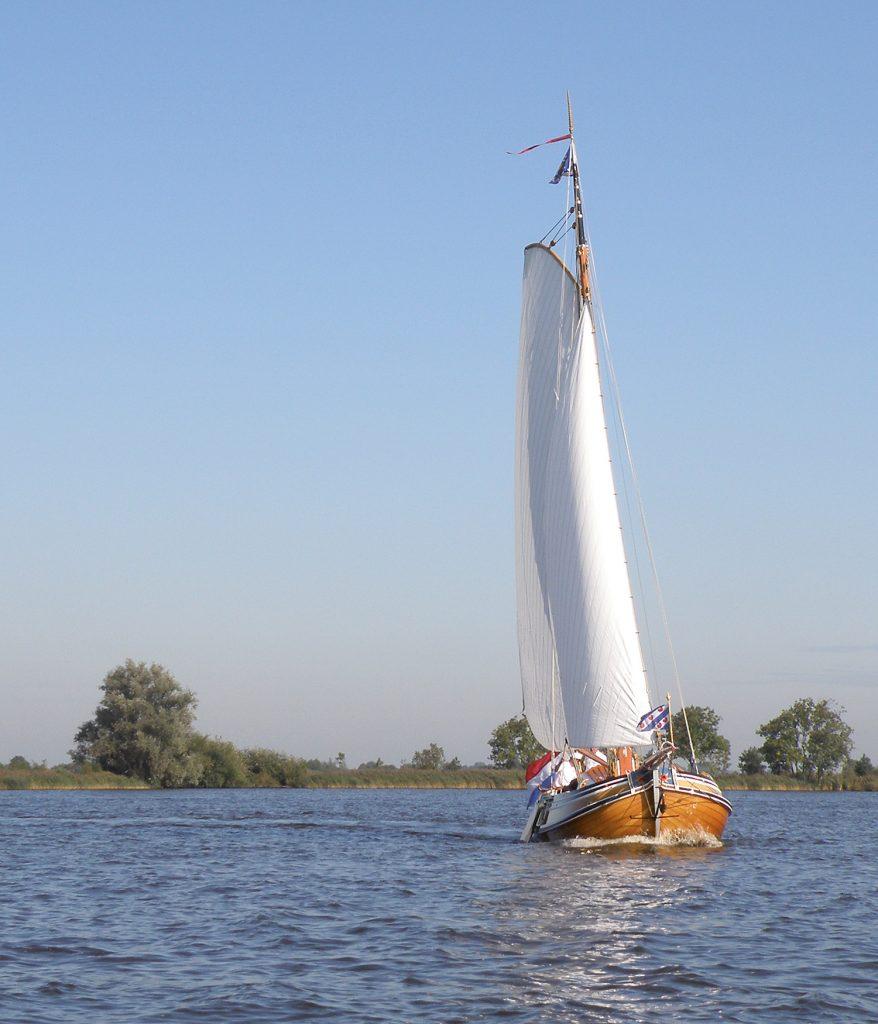 Statenjacht - Foto: Provincie Fryslân