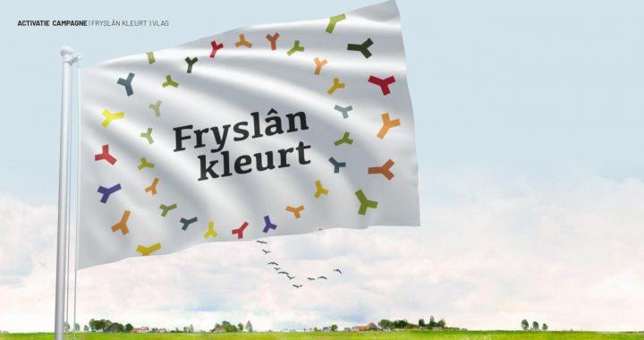 Friese landschap krijgt weer kleur met campagne 'Fryslân kleurt'